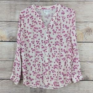 {Anthropologie} Leylie button up blouse